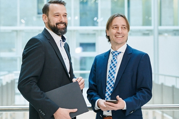Portfoliomanager Thorsten Albrecht und Michael Struckmann, Union Investment